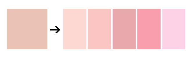 Как называется нежно розовый цвет